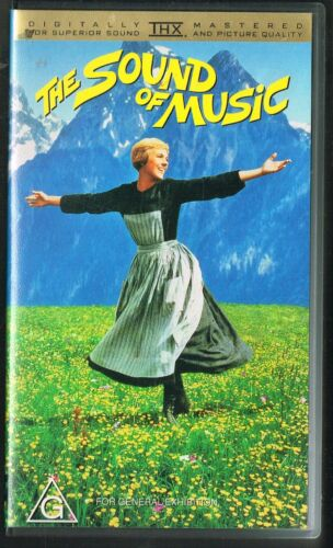 The Sound Of Music VHS Digitally Mastered THX 1998 Classic Movie Julie Andrews