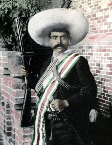 Emiliano Zapata Mexico Revolution Reproductions - 156388