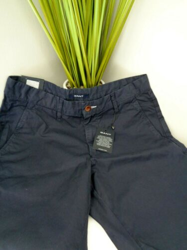 BNWT  GANT Navy  100% Cotton Shorts size 29