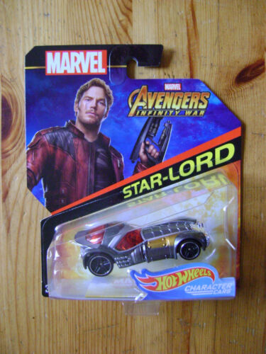 MARVEL - Star-lord - Hot Wheels character cars voiture miniature - NEUF