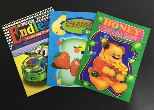 NEW 3 x Great Colouring Books Mixed Motor Animal Plant Colouring Activities -AU