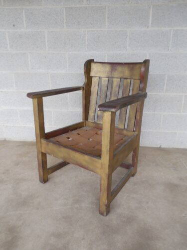 Stickley Brothers Mission Oak Arts & Crafts Chair