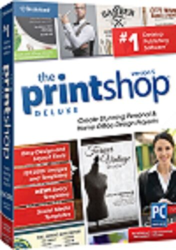 The PrintShop 5 Deluxe Digital Download For Pc New