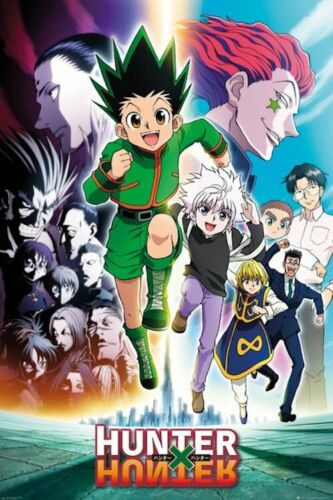 HUNTER X HUNTER - GROUP POSTER 24x36 - 823