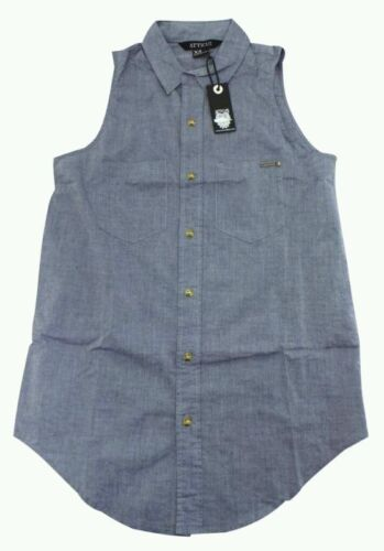 Atticus Woman's Pale Blue Eyes Denim look Shirt UK Size S. Brand New With tags.