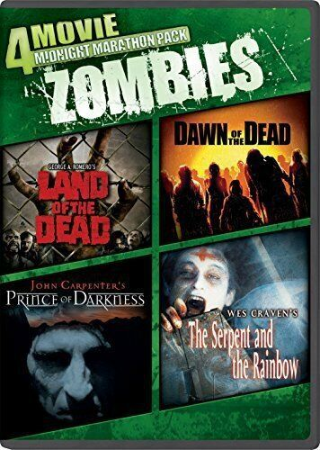 4 FILM HORROR - LAND + DAWN OF THE DEAD + SERPENT & RAINBOW + PRINCE OF DARKNESS