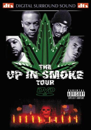 The UP IN SMOKE TOUR Dr Dre Eminem Snoop Dog Ice Cube DVD Region 4 New/Sealed