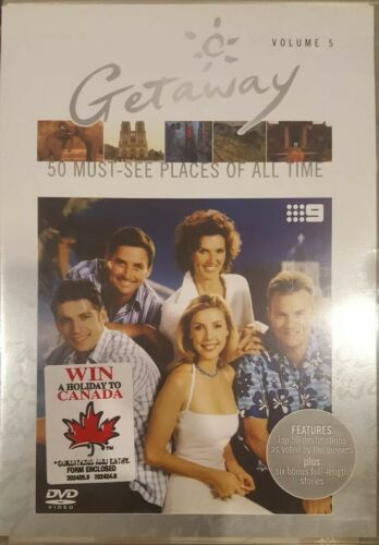 GETAWAY 50 MUST-SEE PLACES OF ALL TIME RARE DVD VOLUME 5 HOLIDAY TV SERIES SHOW
