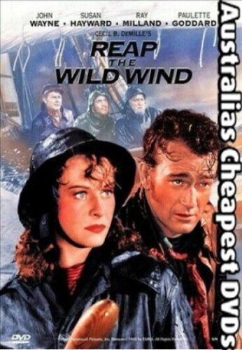Reap The Wild Wind DVD NEW, FREE POSTAGE WITHIN AUSTRALIA REGION ALL