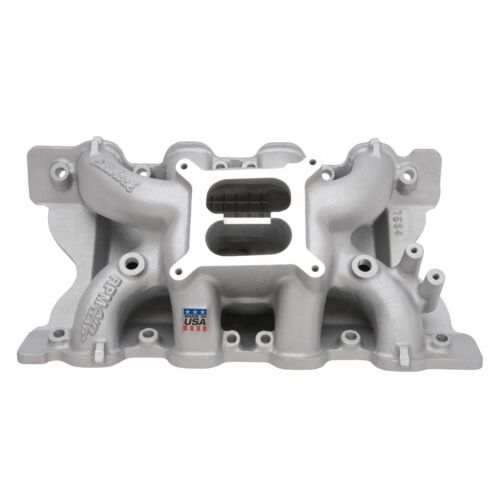 """Torque Intake Manifold w//2/"""" 4V With Tongues fits Ford 302 351C Cleveland"""