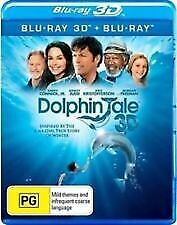 DOLPHIN TALE 3D BLU RAY - NEW & SEALED INC 3D & 2D, HARRY CONNICK JR FREE POST