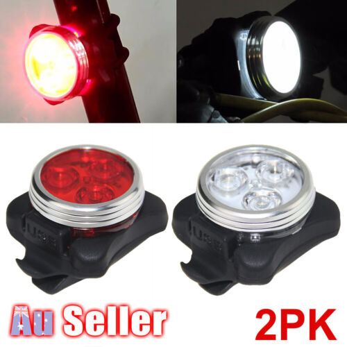 Waterproof Bike Lights Bicycle Rechargeable Tail Light Front Rear Lamp USB IPX4