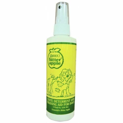 Grannicks Bitter Apple  Stop Chewing Deterrent Spray for Dogs 8oz