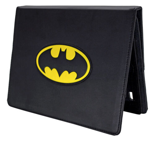 DC Comics Batman Logo Official Licensed iPad 2 3 Cover Case Stand Magnetic Lock