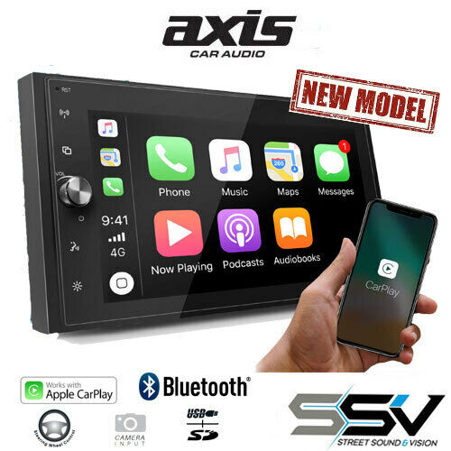 """Axis AX1870CP Mechless APPLE CARPLAY 6.8"""" MULTIMEDIA SYSTEM"""