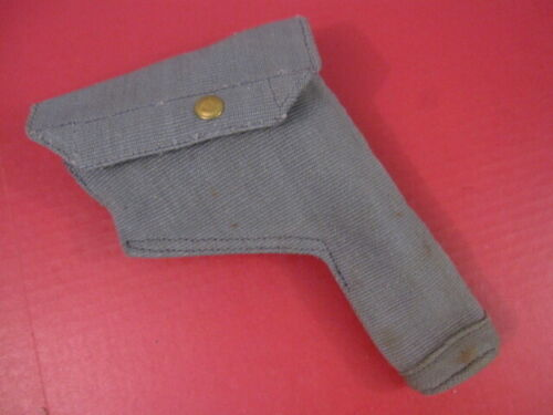 post-WWII British RAF Canvas Holster for Browning Hi Power Pistol - 1951 - MINTPersonal, Field Gear - 156424