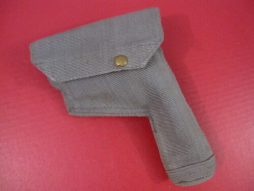 WWII British RAF Canvas Holster for Browning Hi Power Pistol - Dated 1943 - MINTPersonal, Field Gear - 156424