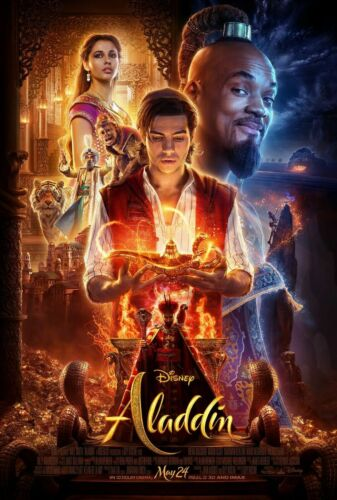 Aladdin (2019) Movie poster High Quality wall poster Choose your Size