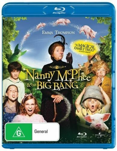 Nanny Mcphee And The Big Bang -BLURAY Emma Thompson, Ralph Fiennes, Rhys Ifans
