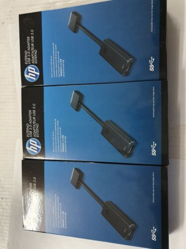 3 X E8F98AA Genuine HP ElitePad  USB 3.0 Adapter Brand New