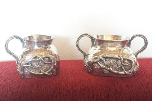 ANTIQUE CHINESE EXPORT STERLING SILVER TEA POT