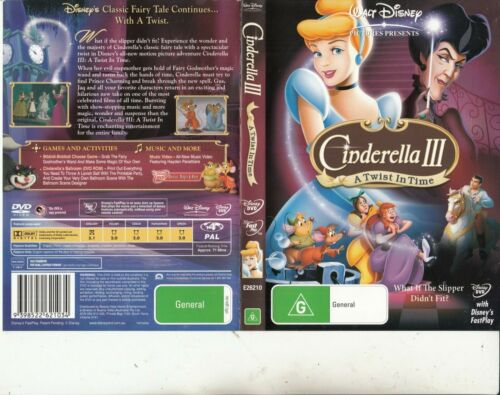 Cinderella 3:A Twist In Time-2007-Animated Movie-DVD