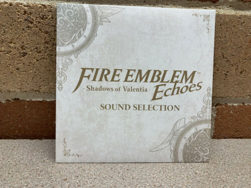 Official Fire Emblem Echoes Shadow of Valentia Sound Selection CD NEW