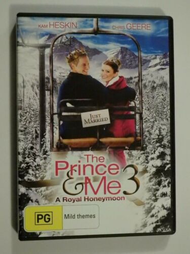 The Prince & Me 3 A Royal Honeymoon DVD Feat Kam Heskin Chris Geere VERY GOOD