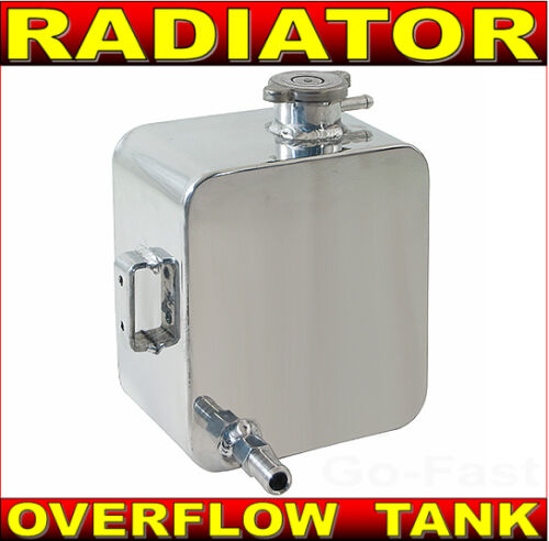 Radiator Overflow Tank//Catch Can 3 x 10,Stainless Steel for Fairmont