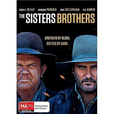THE SISTERS BROTHERS DVD, NEW & SEALED, 2019 RELEASE, FREE POST