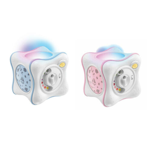 Chicco Rainbow Cube Baby Lullaby Musical Ceiling Light Projector Toy 0m+