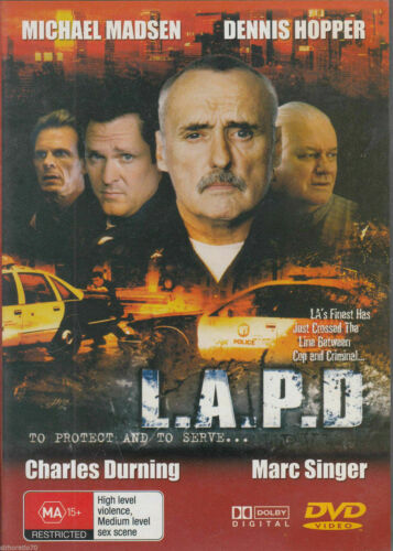 L.A.P.D. BRAND NEW AND SEALED DVD REGION ALL PAL SYSTEM