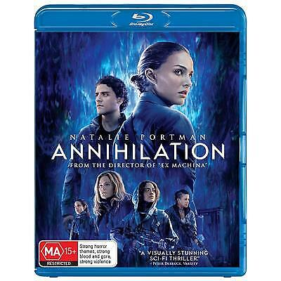 ANNIHILATION BLU-RAY, NEW & SEALED, 2019 RELEASE, FREE POST