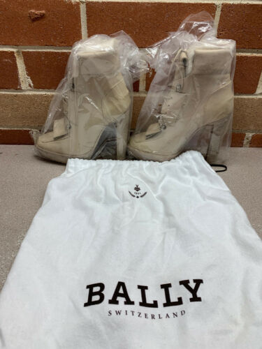 Genuine Bally Switzerland Ladies Leather Boots Size 35 NEW RRP$590