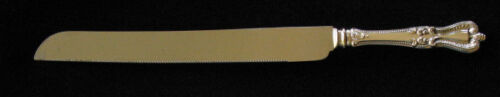 TOWLE OLD COLONIAL STERLING WEDDING CAKE/BREAD KNIFE
