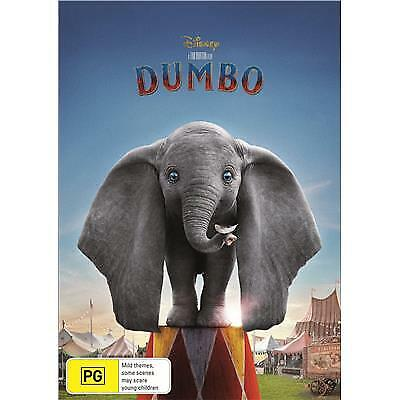 DUMBO DVD, NEW & SEALED, 2019 RELEASE, FREE POST