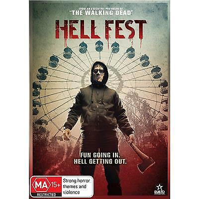 HELL FEST DVD, NEW & SEALED, 2019 RELEASE, FREE POST