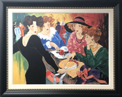 "Custom Framed Art - Marcia Banks - Signed Art 36/95 - ""Chic in Black"""