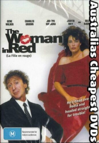 The Woman In Red DVD NEW, FREE POSTAGE WITHIN AUSTRALIA REGION ALL
