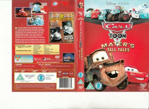 Cars-Toon-Mater's Tall Tales-Animated Ca-DVD