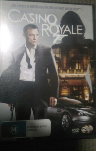 Casino Royale James Bond  2 DVD Set 2007 Good Condition R4 Free Shipping