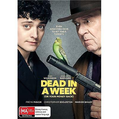 DEAD IN A WEEK OR YOUR MONEY BACK DVD, NEW & SEALED, 2019 RELEASE, FREE POST