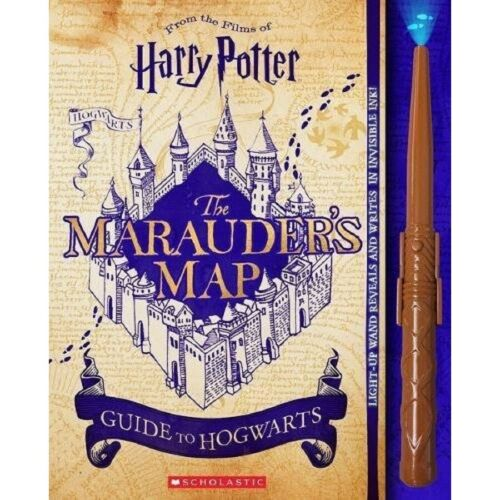 Harry Potter: The Marauder's Map Guide To Hogwarts Wand & Book Set