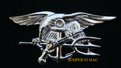 """5/"""" SEAL TEAM TRIDENT PATCH US NAVY VIETNAM PIN UP EAGLE 1 2 3 4 5 6 7 8 10 WOW"""
