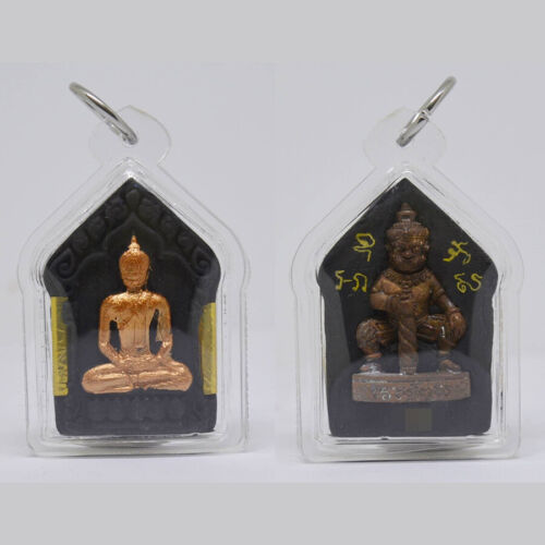 Thai Amulet Phra Khunpaen AJ Tapoon Attract Charm Lucky Trade Protection Ghost
