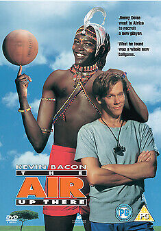 THE AIR UP THERE (1994) Kevin Bacon DVD Region 4 (AUS) New & Sealed