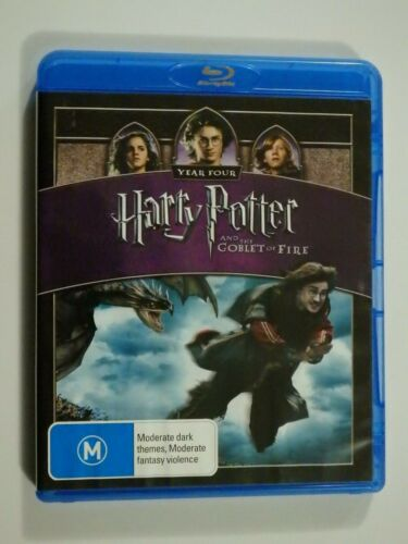 Harry Potter And The Goblet Of Fire Blu-Ray Disc Year Four VERY GOOD CONDITION
