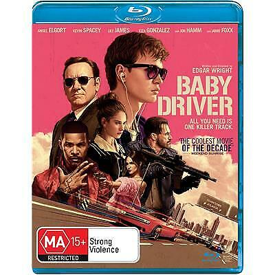 BABY DRIVER BLU-RAY NEW & SEALED, 2019 RELEASE, FREE POST