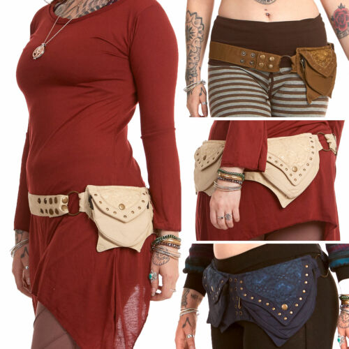 Pixie Pocket Belt, Psy Trance Pocketbelt, Emo Hippy Festival Pocket Belt Purse