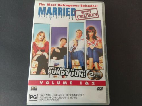 MARRIED WITH CHILDREN VOLUME 1 & 2  DVD - FREE POST - OZ SELLER